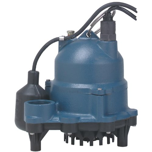 Sta-Rite DC250110T Submersible Sump / Effluent Pump - 1/2 HP Tethered Switch