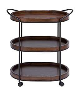 3 Tier Serving Cart by Woodland Imports