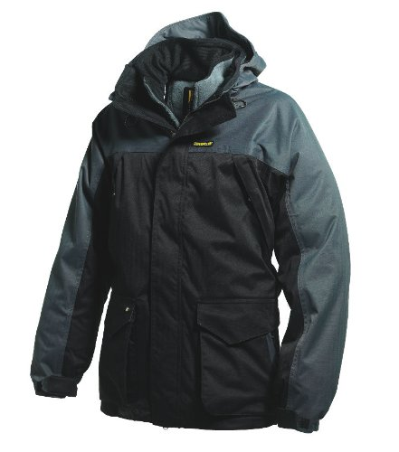 CAT 454 3 in 1 Jacket with Detachable Fleece, Size Small