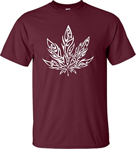 Adult-Giant-Psychedelic-Pot-Leaf-Marijuana-420-T-Shirt