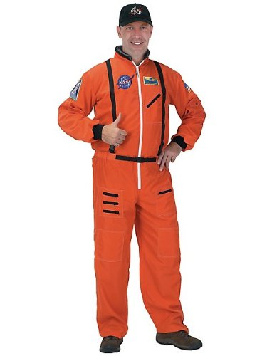 Aeromax Men's Nasa Astronaut Suit Adult Costume