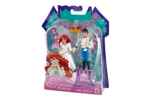 Disney Princess Fairytale Wedding Ariel Doll - 1