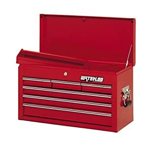 Waterloo WI-600 26-Inch Long by 12-Inch Wide by 15-1/3-Inch High Red 6 Drawer Chest at Sears.com