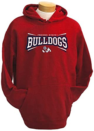 NCAA Fresno State Bulldogs Mens Condor Hooded Sweatshirt by CI Sport