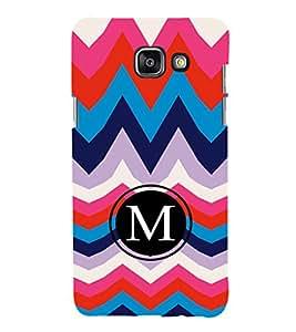 EPICCASE M letter Mobile Back Case Cover For Samsung Galaxy A7 (2016) (Designer Case)