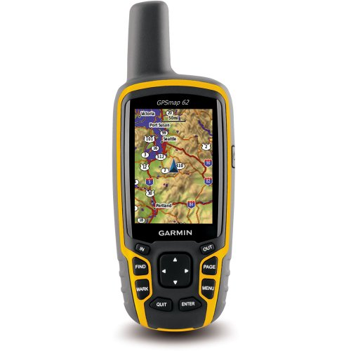 Garmin GPSMAP 62 Handheld GPS Worldwide