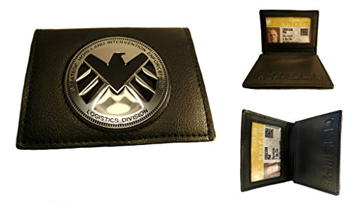 J&C Marvel Agents of Shield Logistics Division Bi-fold Men's Boys Wallet (Marvel Agents Of Shield Wallet compare prices)