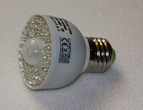 LED Birne mit Bewegungssensor PIR Sensor 230V E27 Bewegungsmelder Infrarot