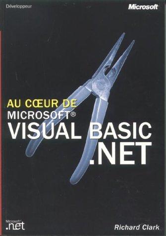 Au coeur de microsoft visual basic .net