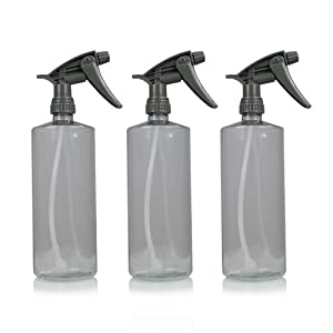 Chemical Guys ACC121.16HD Chemical Resistant Heavy Duty Bottle and Sprayer - 16 oz. (Pack of 3)