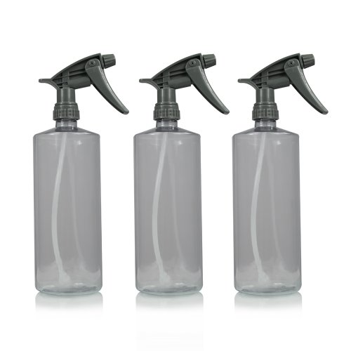 Chemical Guys Acc_121.16Hd - Chemical Resistant Heavy Duty Bottle & Sprayer (16 Oz) (Pack Of 3) front-157949