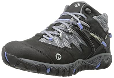 Buy Merrell Ladies Allout Blaze Mid Waterproof Hiking Boot by Merrell