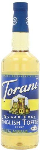 Torani Syrup, Sugar Free, English Toffee, 33.8-Oz (Pack of 3)