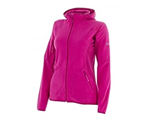 Womens Berghaus Womens Kisdon Fleece Zip Hoody in Pink - 8