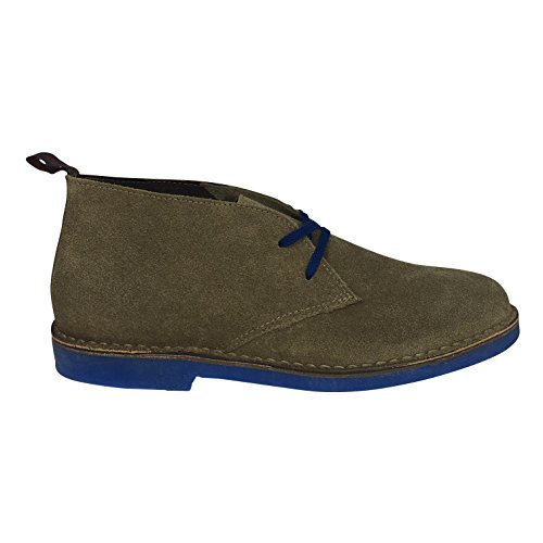 Wally WalkerChukka - Stivali Desert Boots uomo, Marrone, 42 EU