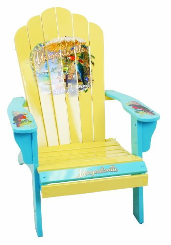 Charming Margaritaville Painted State Of Mind Adirondack Chair