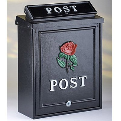 ARBORIA GARDEN DECOR MAIL BOX POST24