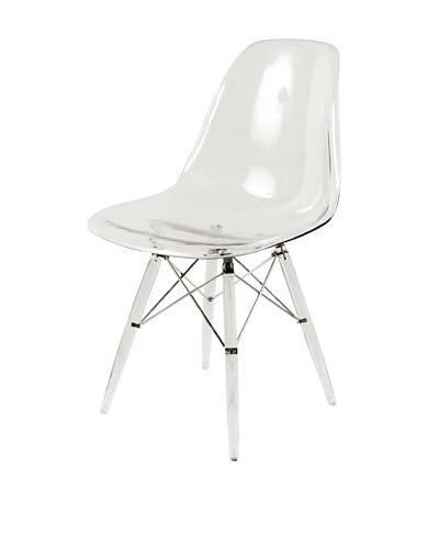 Stilnovo Mid-Century Eiffel Dining Chair, Clear