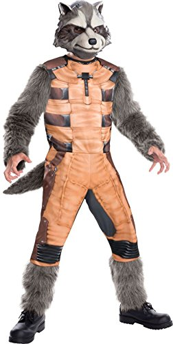 Guardians Of The Galaxy: Kids Rocket Raccoon Deluxe Costume