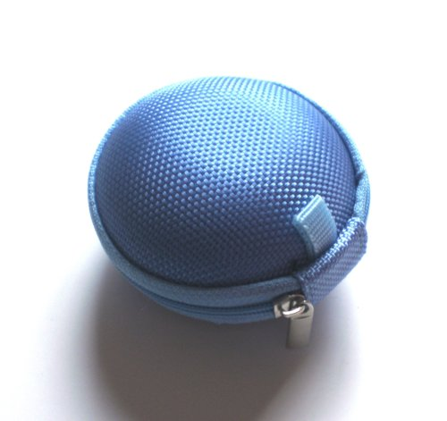 Blue Case For Plantronics Backbeat Go , Marque 2 M165 , Marque M155 , M55 M50 M28 M25 M24 M20 , Savor M1100 , M100 Mx100 , Discovery 975 925 Wireless Bluetooth Headset M-165 M-155 M-55 M-50 M-28 M-25 M-24 M-20 M-1100 M-100 Mx-100 Bag Holder Pouch Hold Box