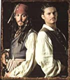 Pirates-of-the-Caribbean-Jack-Sparrow--Will-Turner-Micro-Raschel-Throw-Blanket