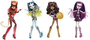 Mattel Monster High Y7298 - Neue Power-Exklusiv Ghouls - Puppen, Sortiment