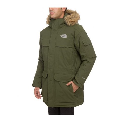 The North Face McMurdo Parka Jacket - Fig Green