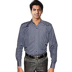 Sttoffa Solid Color Designer Mens Shirt