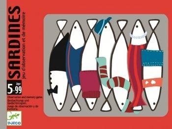 Sardines : Jeu d'observation et de mémoire