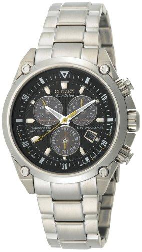 Citizen Men's Eco-Drive Perpetual Calendar Chronograph Watch #BL5380-58E