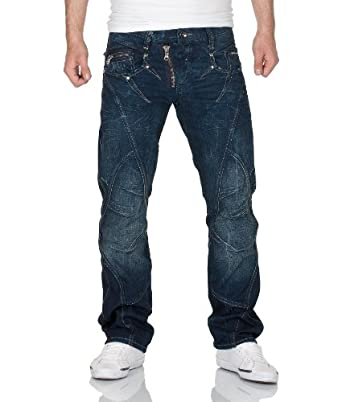 "Cipo & Baxx Herren Jeans ""C-0768"" blue/ blau Grösse: W30 - L32"