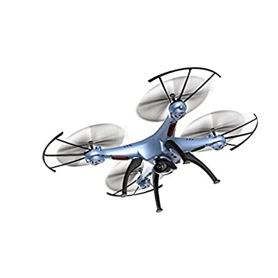Dayan Chen Wifi Real-time Transmission Syma X5HW With HD Camera 2.4G Aerial Remote Control Toy by Dayan 360-Degree 3D Wifi FPV RC Drone RTF Quadcopter with LED Real-time Camera by Dayan