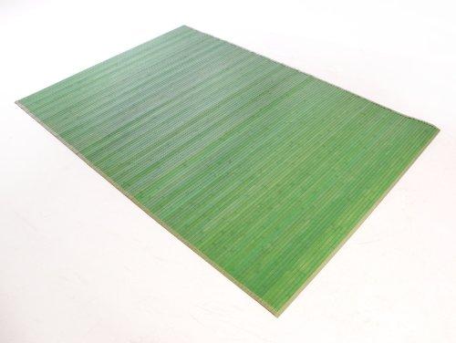 Buykuki alfombra bamb verde 150x220 hogar for Alfombra verde ikea