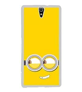 Funny Smiley Cartoon 2D Hard Polycarbonate Designer Back Case Cover for Sony Xperia C5 Ultra Dual :: Sony Xperia C5 E5533 E5563