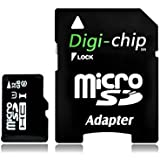 Digi-Chip HIGH SPEED 32GB UHS-1 CLASS 10 Micro-SD Memory Card For Samsung Galaxy A8 Galaxy V Plus Galaxy Core...