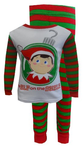 Christmas Is Coming Elf On The Shelf Pajamas For Boys (3T) back-414894