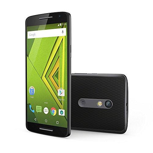 モトローラ  スマートフォン Moto X Play ブラック ( Android / 5.5インチ / 2GB / 16GB / 撥水機能 / 21MPリアカメラ ) 国内正規代理店 AP3597AE7J4