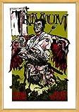 Poster - TRIVIUM - Natural Framed Limited Edition Concert Poster - by Rhys Cooper von Trivium