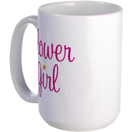 Cafepress Flower Girl Large Mug - Standard