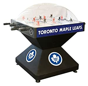 Toronto Maple Leafs Dome Bubble Hockey by Holland Bar Stool