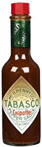 McIlhenny Tabasco Chipotle Pepper, 5 Ounce