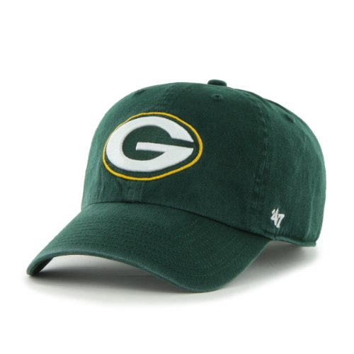 NFL Green Bay Packers Breast Cancer Awareness Clean Up Cap, Dark Green, One Size from Twins Enterprise/47 Brand