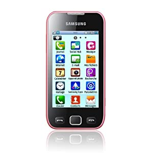Samsung Wave 533 Smartphone GSM/EDGE/GPRS Bluetooth Rose