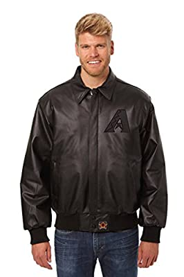 Arizona Diamondbacks Leather Bomber Jacket