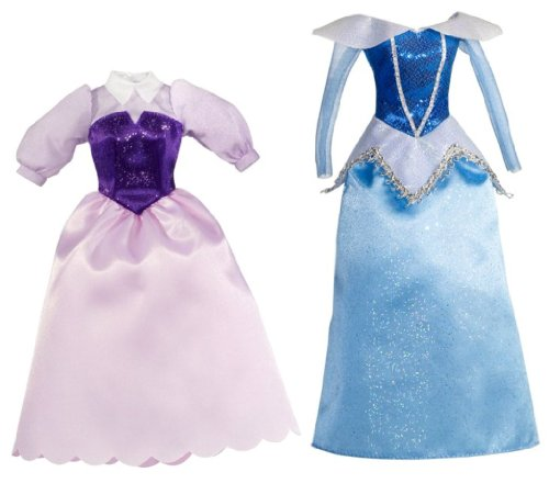 mattel disney sparkling	princess sleeping beauty