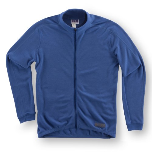 Buy Low Price Ibex Men's Giro Full-Zip Long Sleeve Cycling Jersey (7203-8990-S)