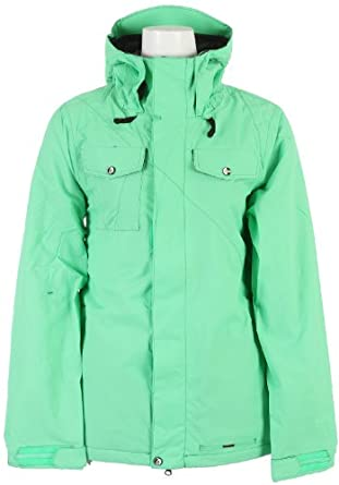 Volcom Shore Insulated Snowboard Jacket Green Ladies by Volcom