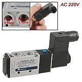 AC 220V MVSC220-4E1 2 Position 5 Ways Pneumatic Solenoid Valve