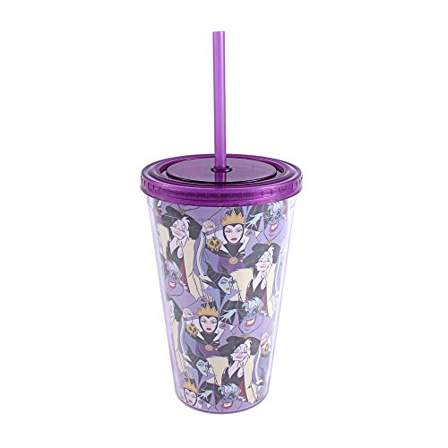 Disney Villains Collage 16 oz Tumbler