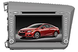 See Being Lucky G65HA08 Car 2 Din DVD GPS for HONDA CIVIC left driving Details